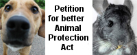 Petition for better Animal Protection Act