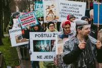 March for the animals, photo: Jelena Rasic [ 320.49 Kb ]