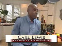 Olympian Carl Lewis on being vegan