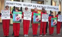 Benetton: Blind to Animal Suffering