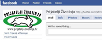 Facebook profile for Animal Friends Croatia