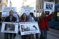 Demo against animal transport 2009. [ 536.38 Kb ]