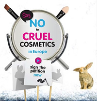 Say no to cruel cosmetics in Europe