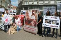 Demo against animal transport, Zagreb 2012 [ 116.67 Kb ]