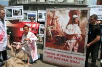 Demo against animal transport, Zagreb 2012 [ 116.14 Kb ]