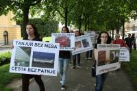 Demo against animal transport, Zagreb 2012 [ 115.91 Kb ]