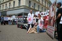 Demo against animal transport, Zagreb 2012 [ 103.97 Kb ]
