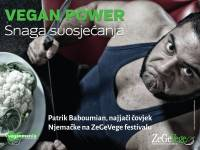 Patrik Baboumian - Vegan Power plakat [ 48.06 Kb ]
