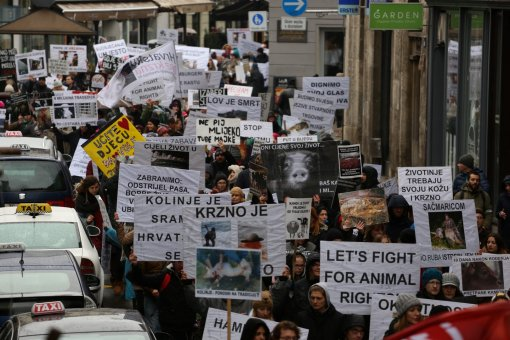 March for the animals, photo: Jelena Rasic [ 434.58 Kb ]