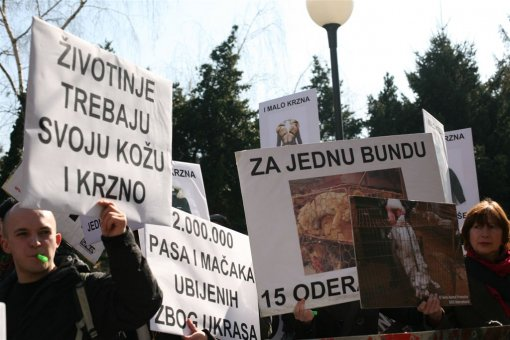 Anti-fur protest Zagreb 2009 b [ 121.92 Kb ]