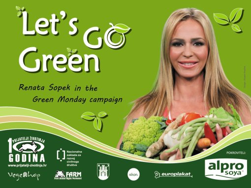 Renata Sopek in the Green Monday campaign eng 1 [ 589.14 Kb ]