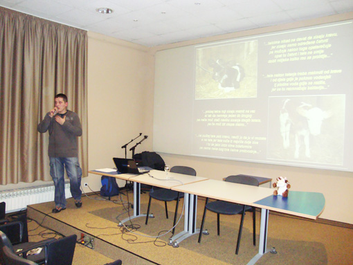 Lecture by Vedran Romac