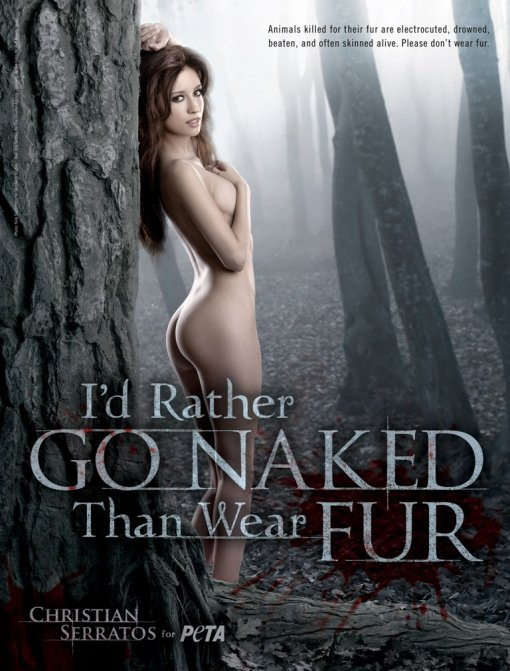 I'd rather go naked than wear fur [ 224.00 Kb ]